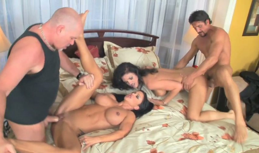 small Foursome boobs model drilled